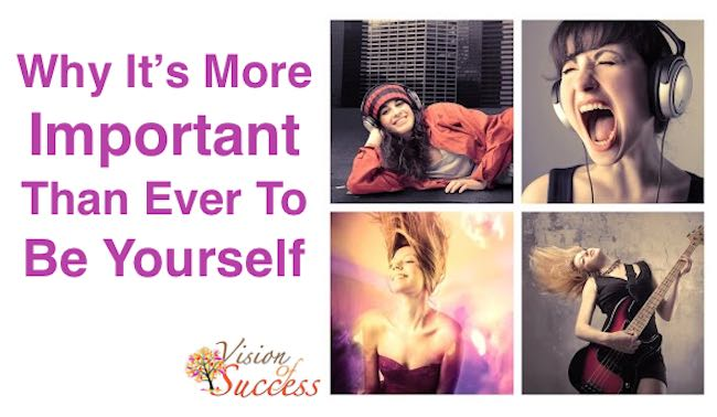Why its important to be yourself