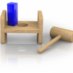 The Square Peg Round Hole Approach To Life