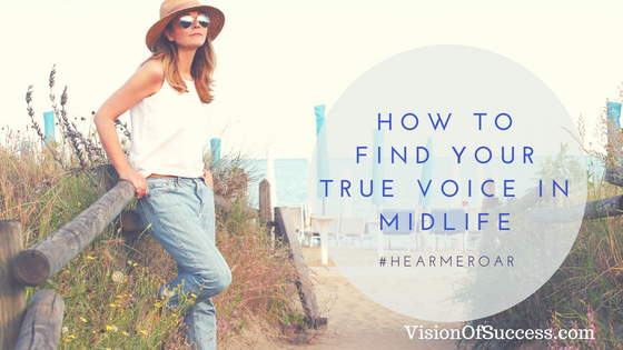 How To Find Your True Voice In Midlife
