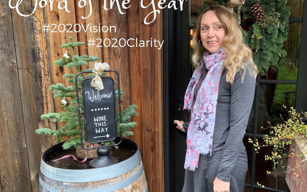 Getting Clear About My Second Act – How I Selected My Word of 2020